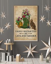 Dictionary Easily Distracted By Cats And Garden 11x17 Poster lifestyle-holiday-poster-1