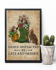 Dictionary Easily Distracted By Cats And Garden 11x17 Poster lifestyle-poster-8