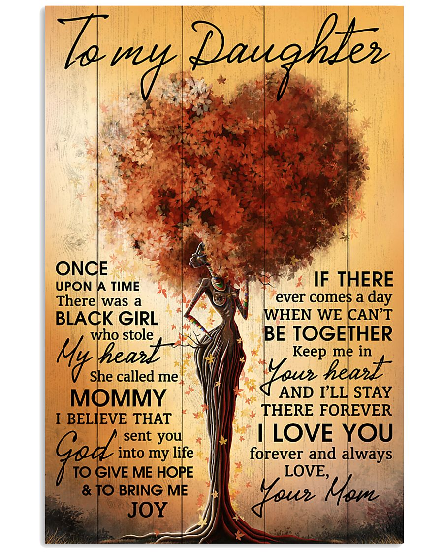 Mom To Daughter Once Upon A Time Black Tree 11x17 Poster
