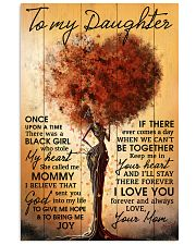 Mom To Daughter Once Upon A Time Black Tree 11x17 Poster front