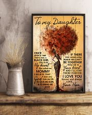 Mom To Daughter Once Upon A Time Black Tree 11x17 Poster lifestyle-poster-3
