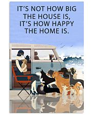 Beach Camper How Happy The Home Is 11x17 Poster front