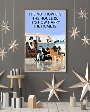 Beach Camper How Happy The Home Is 11x17 Poster lifestyle-holiday-poster-1