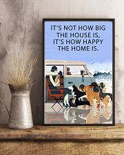 Beach Camper How Happy The Home Is 11x17 Poster lifestyle-poster-3