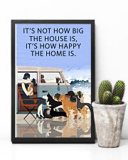 Beach Camper How Happy The Home Is 11x17 Poster lifestyle-poster-8
