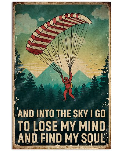 Retro Sky Find My Soul Parachuting