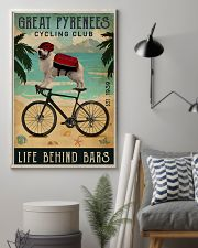 Cycling Club Great Pyrenees 11x17 Poster lifestyle-poster-1