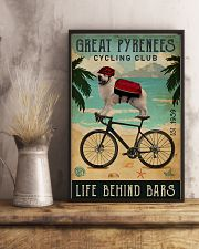 Cycling Club Great Pyrenees 11x17 Poster lifestyle-poster-3