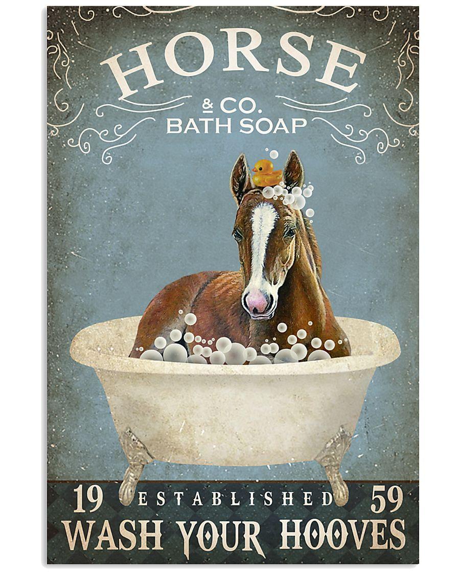Vintage Bath Soap Horse 11x17 Poster