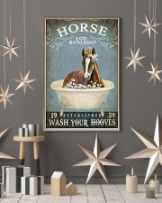Vintage Bath Soap Horse 11x17 Poster lifestyle-holiday-poster-1