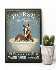 Vintage Bath Soap Horse 11x17 Poster lifestyle-poster-8