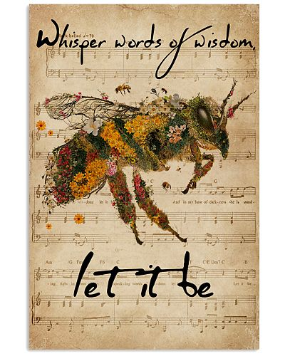 Music Sheet Let It Be Bee