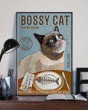 Bossy Cat Dining Room 11x17 Poster lifestyle-poster-2