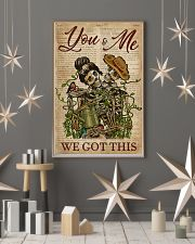 Dictionary We Got This Skull Couple 11x17 Poster lifestyle-holiday-poster-1