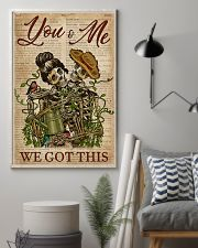 Dictionary We Got This Skull Couple 11x17 Poster lifestyle-poster-1