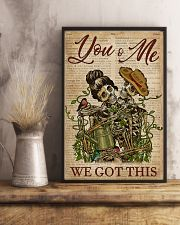 Dictionary We Got This Skull Couple 11x17 Poster lifestyle-poster-3