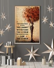 I Am The Storm Black Girl Tree 11x17 Poster lifestyle-holiday-poster-1