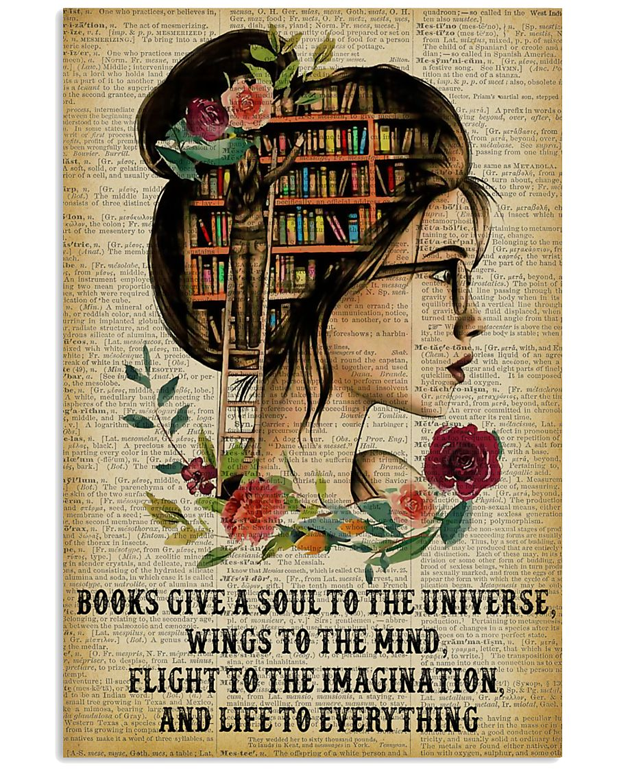 Life To Everything Reading Girl 11x17 Poster