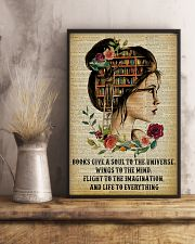 Life To Everything Reading Girl 16x24 Poster lifestyle-poster-3