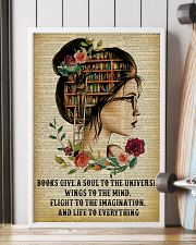 Life To Everything Reading Girl 16x24 Poster lifestyle-poster-4