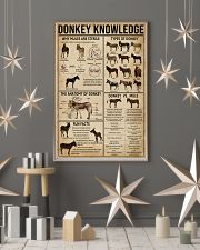 Donkey Knowledge 11x17 Poster lifestyle-holiday-poster-1