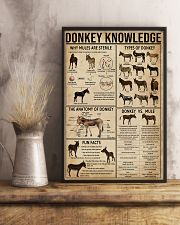 Donkey Knowledge 11x17 Poster lifestyle-poster-3