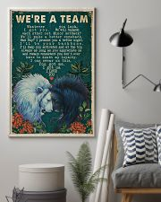 Retro We're A Team Lion 16x24 Poster lifestyle-poster-1