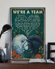 Retro We're A Team Lion 16x24 Poster lifestyle-poster-2