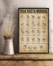 Yoga Hasta Mudras 11x17 Poster lifestyle-poster-3