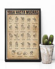 Yoga Hasta Mudras 11x17 Poster lifestyle-poster-8