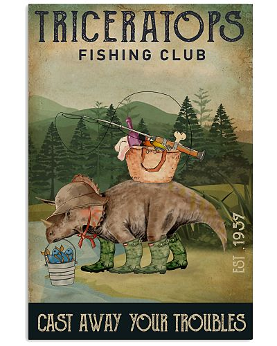 Fishing Cast Away Triceratops