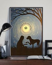 Love You To The Moon Hand Shake Great Dane 11x17 Poster lifestyle-poster-2