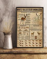 White-Tailed Deer Knowledge 11x17 Poster lifestyle-poster-3