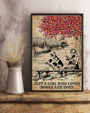 Dictionary Who Loves Dogs And Books 11x17 Poster lifestyle-poster-3