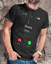 Books Calling - On Sale Classic T-Shirt lifestyle-mens-crewneck-front-4
