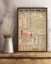 Registered Nurse Knowledge 16x24 Poster lifestyle-poster-3