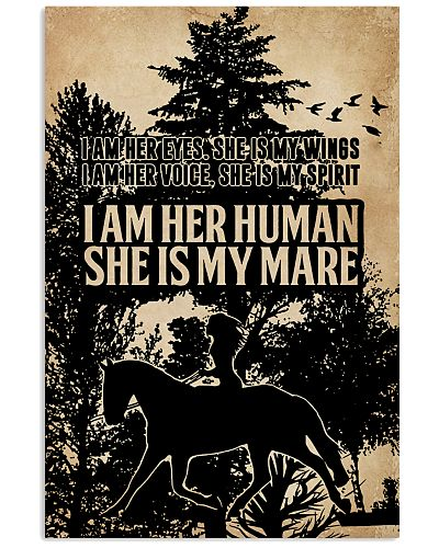 I Am Her Eyes She Is My Wings Love Horse