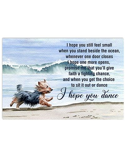 I Hope You Dance Yorkshire Terrier