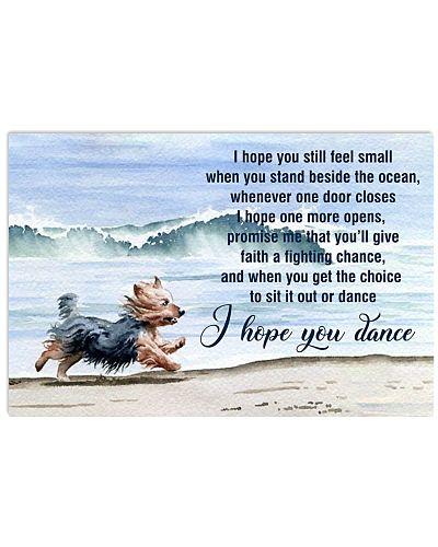 I Hope You Dance Yorkshire Terrier