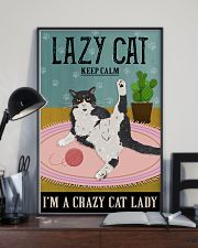 Cattractive Keep Calm Cat Lover 11x17 Poster lifestyle-poster-2