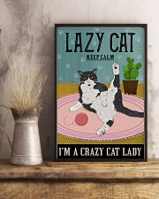 Cattractive Keep Calm Cat Lover 11x17 Poster lifestyle-poster-3