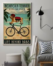 Cycling Club Norfolk Terrier 11x17 Poster lifestyle-poster-1