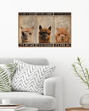 Alpaca It's Not A Phase 24x16 Poster poster-landscape-24x16-lifestyle-01