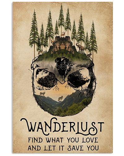 Skull Wanderlust Find What You Love