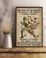 God grant me Dictionary Blue Running 11x17 Poster lifestyle-poster-3
