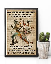 God grant me Dictionary Blue Running 11x17 Poster lifestyle-poster-8
