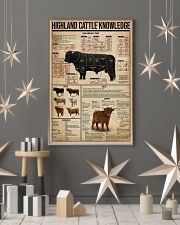 Highland Cattle Knowledge 16x24 Poster lifestyle-holiday-poster-1