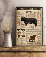 Highland Cattle Knowledge 16x24 Poster lifestyle-poster-3