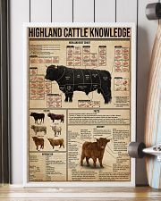 Highland Cattle Knowledge 16x24 Poster lifestyle-poster-4
