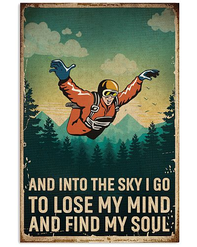 Retro Sky Find My Soul Skydiving